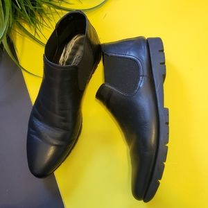 The flexx black tortilla too ankle boots